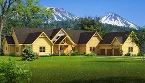 luxury log home floor plans big sky southland homes uber home