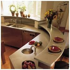 Curved Island Kitchen Designs 53 Best Curved Kitchen Images On Pinterest Kitchen Designs