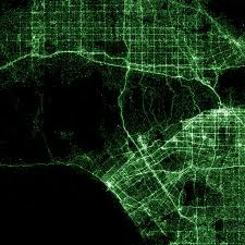 United States Light Map by Maps Flowingdata
