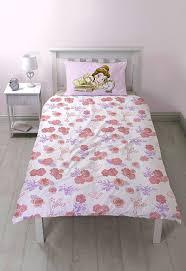 Princess Cot Bed Duvet Set Disney Princess U0027imagine U0027 Reversible Panel Single Bed Duvet Quilt