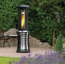 Fire Sense Patio Heater Review Malmo Chiminea Patio Heater And Log Store Chiminea Log Store