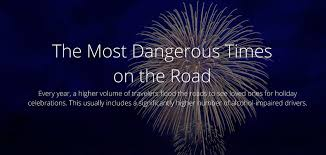 what day does thanksgiving fall this year the most dangerous times on the road