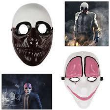 payday costume masks ebay