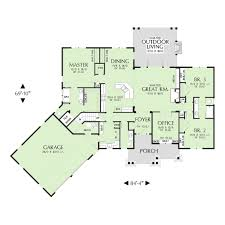 Earth Homes Plans Craftsman House Plan 48 639 Houseplans Floorplans