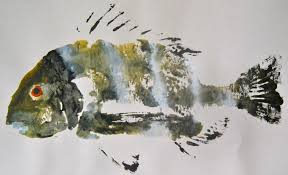 gyotaku the japanese art of fish painting art from louisiana rivers
