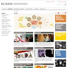 design management elisava drupal projects drupal sites showcase elisava barcelona school