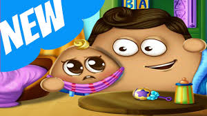 pou baby birth pou has a baby baby room decoration games for