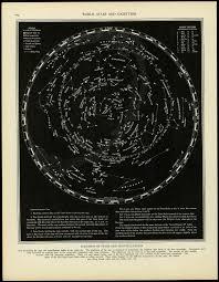printable star constellation map star chart black glow in the dark star chart bandana map july