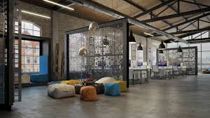 3 Stylish Industrial Inspired Loft Office Design Loft It Office Interior Design 3dtotal Forums