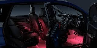 Custom Interior Lights For Cars Tata Hexa Design Features Impact Design Interior U0026 Exterior