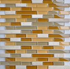 White Stone Mosaic Glass Tile Backsplash SGMT Stone Glass - Stone glass mosaic tile backsplash