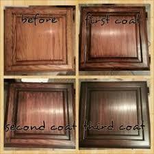 Walnut Stain Over Oak Cabinet Kitchen Pinterest Walnut Stain - Kitchen cabinet finishing