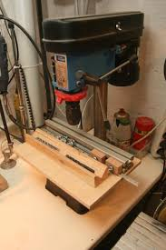 Diy Drill Press Table by Drill Press Table And Much More 1 Making The Table Fence And