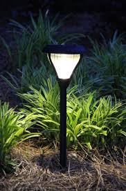 Solar Night Lights by Amazon Com Gama Sonic Premier Solar Landscape Path And Garden