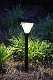 landscape path light amazon com gama sonic premier solar landscape path and garden