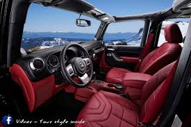 jeep wrangler maroon interior jeep wrangler enjoys some bulgarian pizzazz from vilner