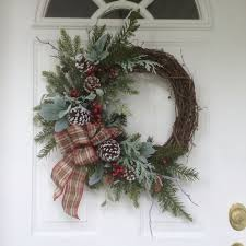 adorable christmas wreath ideas for your front door 45 wreaths