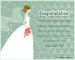 congratulations bridal shower bridal shower messages wordings and messages
