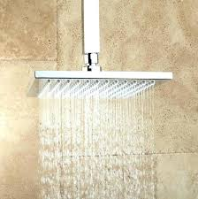 Ceiling Mounted Rain Shower by Ceiling Mounted Rain Shower Head Installation Install New Bathtub