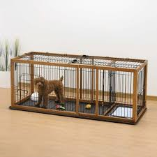 dog kennels with potty area expandable pet enclosure dog crate
