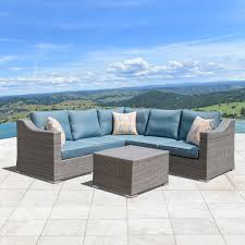 Patio Furniture Home Goods by Outdoor Sectional 500 2 000 Home Goods Free Shipping On