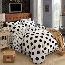Polka Dot Bed Set Cotton Black And White Polka Dot Bedding Sets Bed Set Linen Cotton