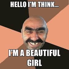 Beautiful Girl Meme - provincial man memes create meme
