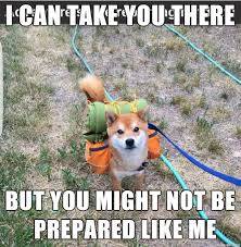 Be Prepared Meme - you all know those people who are all prepared and can t stop