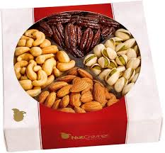 Holiday Food Baskets Amazon Com Holiday Nuts Gift Basket Gourmet Christmas Food Box