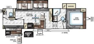 Bunkhouse 5th Wheel Floor Plans by Forest River Rockwood Signature Ultra Lite 5th Wheel Rv Sales Dealer