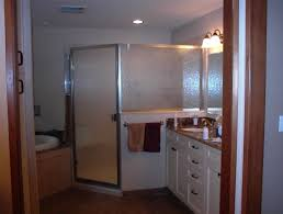corner tub shower combo decofurnish