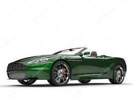 voiture de sport voiture de sport décapotable vert peinture métallisée u2014 photo