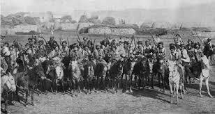 Ottoman Empire World War 1 Kurdish Cavarlymen Employed By The Ottoman Army Against The