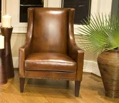 Brown Leather Accent Chair Brown Leather Accent Chairs Home Decor Chairs Quality Decor