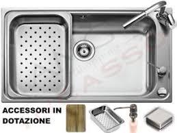 lavello cucina acciaio inox lavello cucina acciaio inox apell criteria crt860ikit cm 86x50 1
