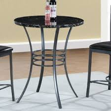 Round Kitchen  Dining Tables Youll Love Wayfair - Bar height dining table nz