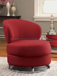 gorgeous round swivel sofa chair snuggle leather fabric occasional