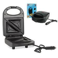 Campervan Toaster 24v Sandwich Maker 120w All Ride Truckers Lorry Truck Tractor Unit