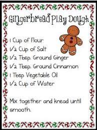 printable playdough recipes gingerbread play dough recipe best friends purple room pinterest