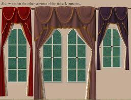 Tie Back Curtains Mod The Sims 23 Recolours Of Maxis U0027 Tieback Curtains