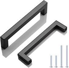 black modern kitchen cabinet pulls knobwell 10 pack matte black modern cabinet handles kitchen