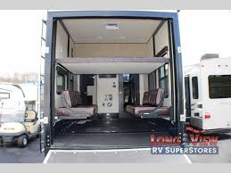 Rv With Car Garage Grand Design Momentum Fifth Wheel Toy Hauler High End Comfort