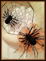 Easy Halloween Wreath by Crafty In Crosby September 2012