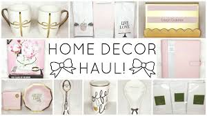girly home decor haul homegoods tj maxx marshalls target