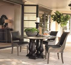 transitional dining room sets bernhardt belgian oak transitional round dining table made of