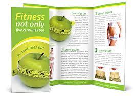 nutrition brochure template diet brochure template design id 0000000653 smiletemplates