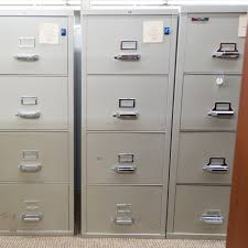 used hon file cabinets used hon fire proof 4 drawer vertical file cabinet putty fiv1556
