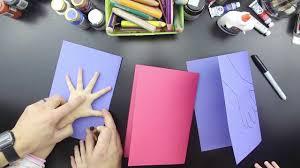 Card Making For Children - easy valentine u0027s card for kids youtube