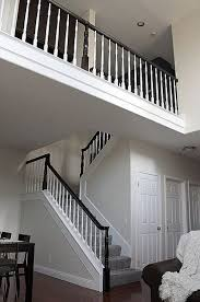 Ideas For Banisters Best 25 Black Banister Ideas On Pinterest Staircase Remodel