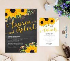 sunflower wedding programs rustic sunflower wedding program template order of service order